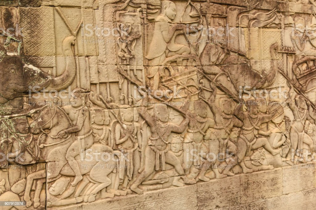 Cambodia, Angkor Archaeological Park stock photo