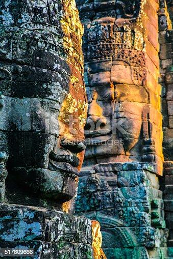 Sunrise in Angkor wat. Siem Reap. Cambodia