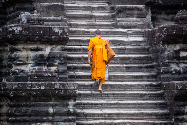 Cambodia: Angkor Wat stock photo