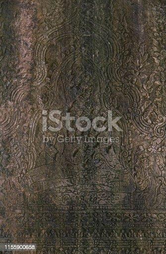 Cambodia angkor wat stone Emboss