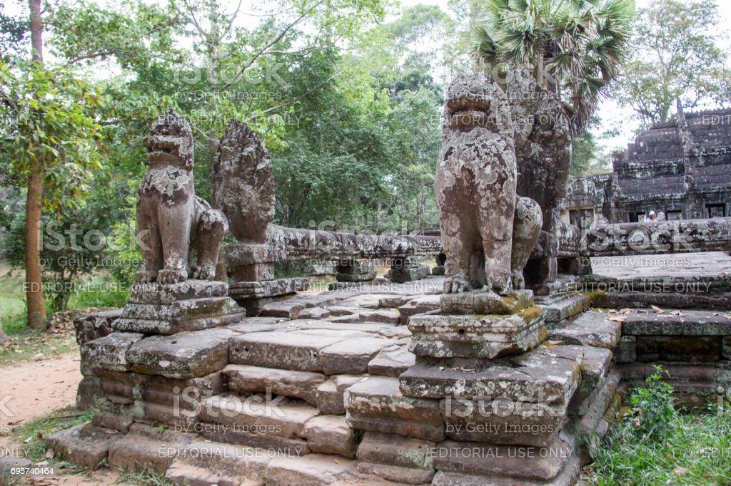 Cambodia: Banteay Kdei Temple stock photo
