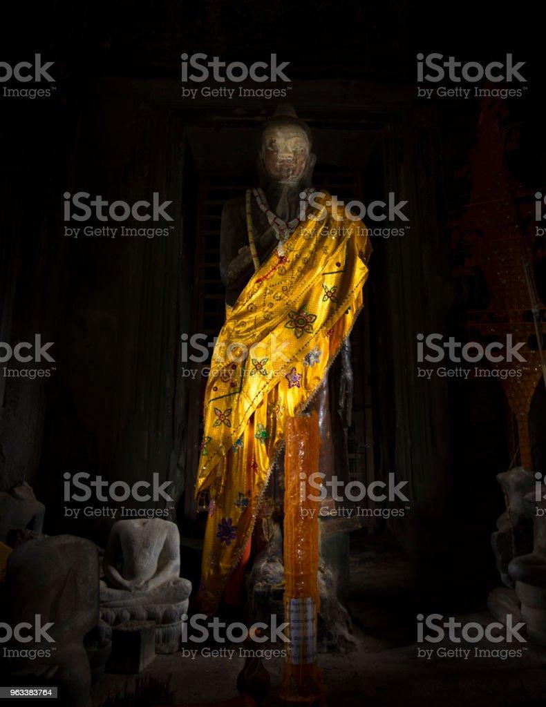 Cambodia Statue - Zbiór zdjęć royalty-free (Azja)