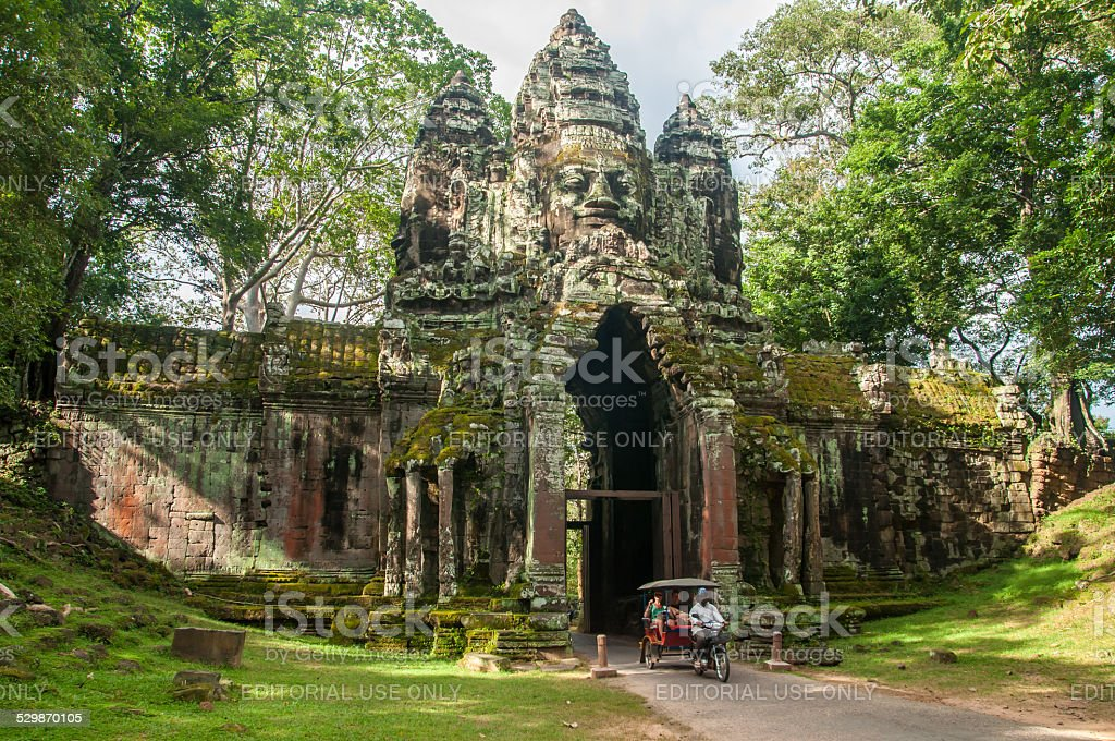 cambodia travel stock photo