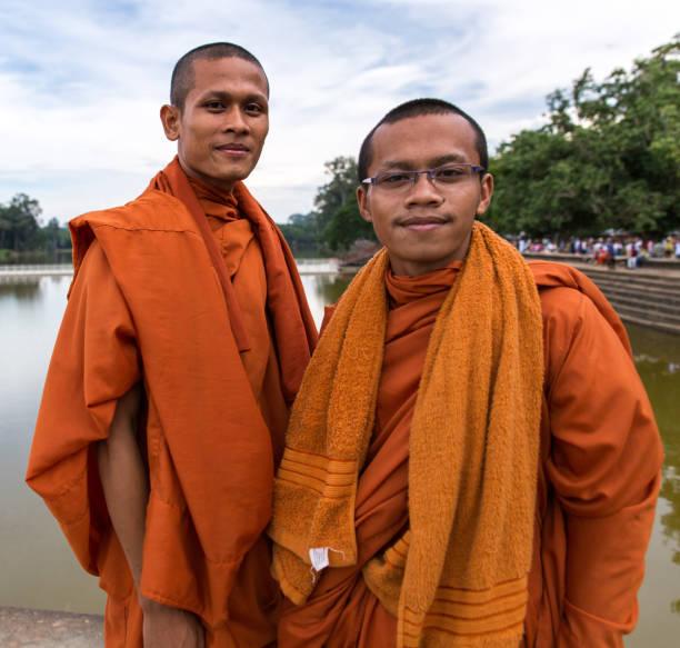 Cambodian Monks – zdjęcie