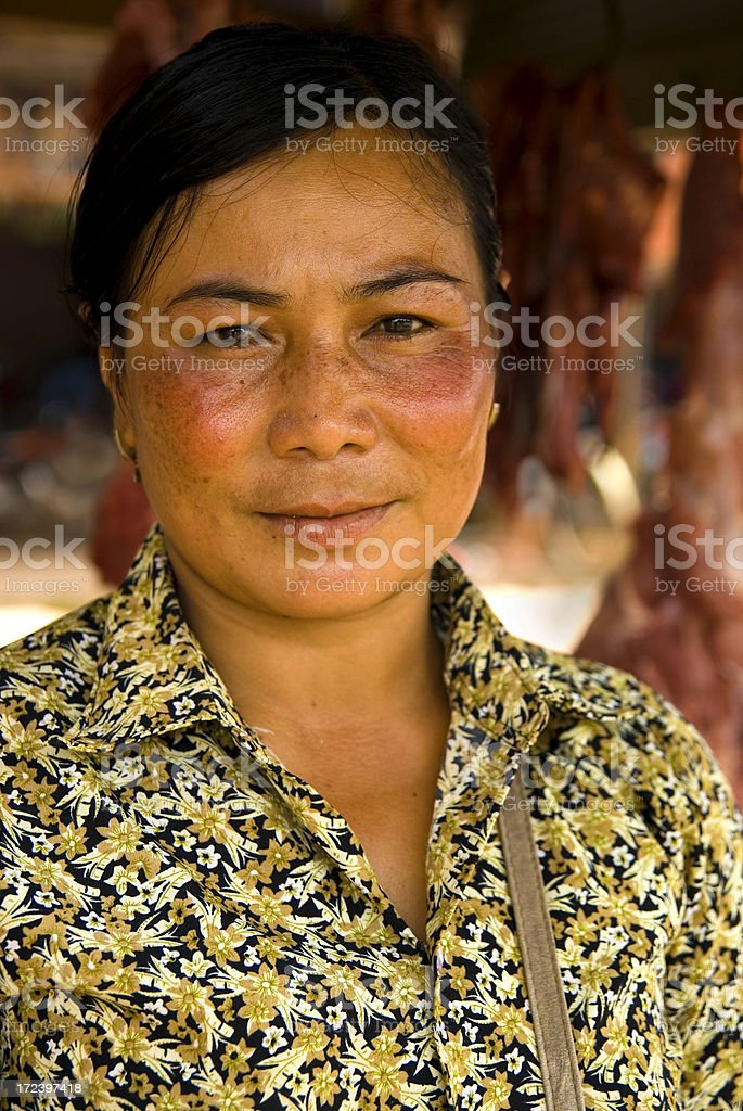 Cambodian Portrait royalty-free stock photo