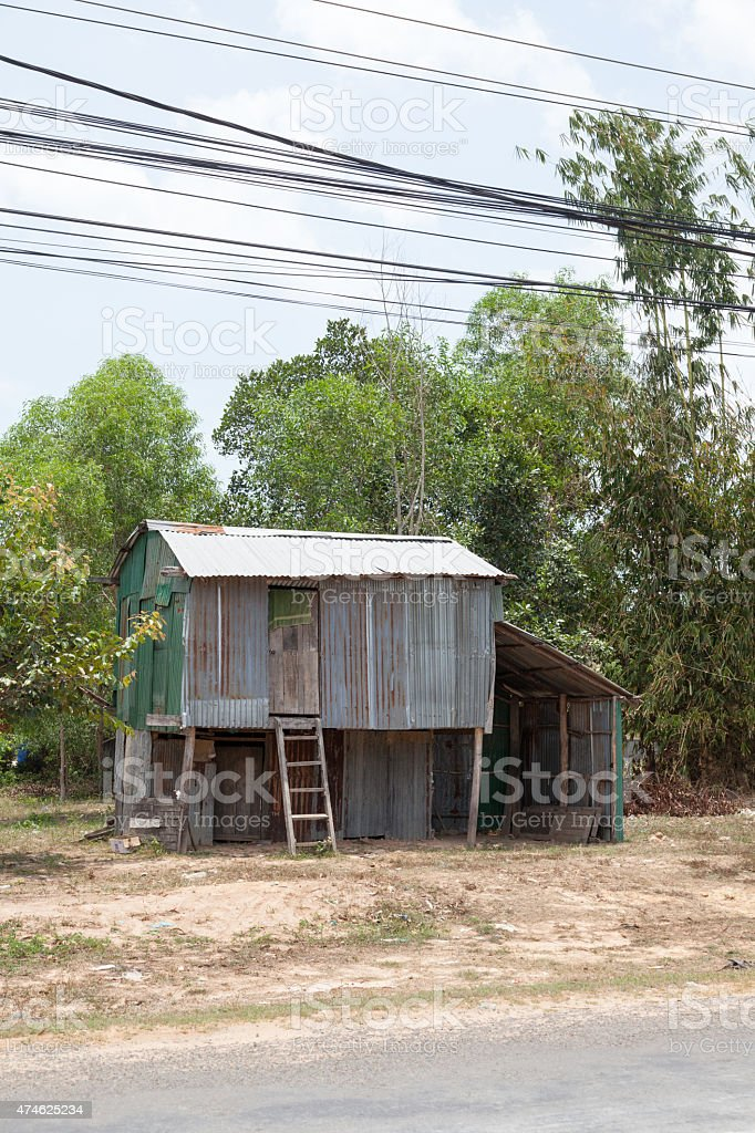 Kambodschanische shanty – Foto