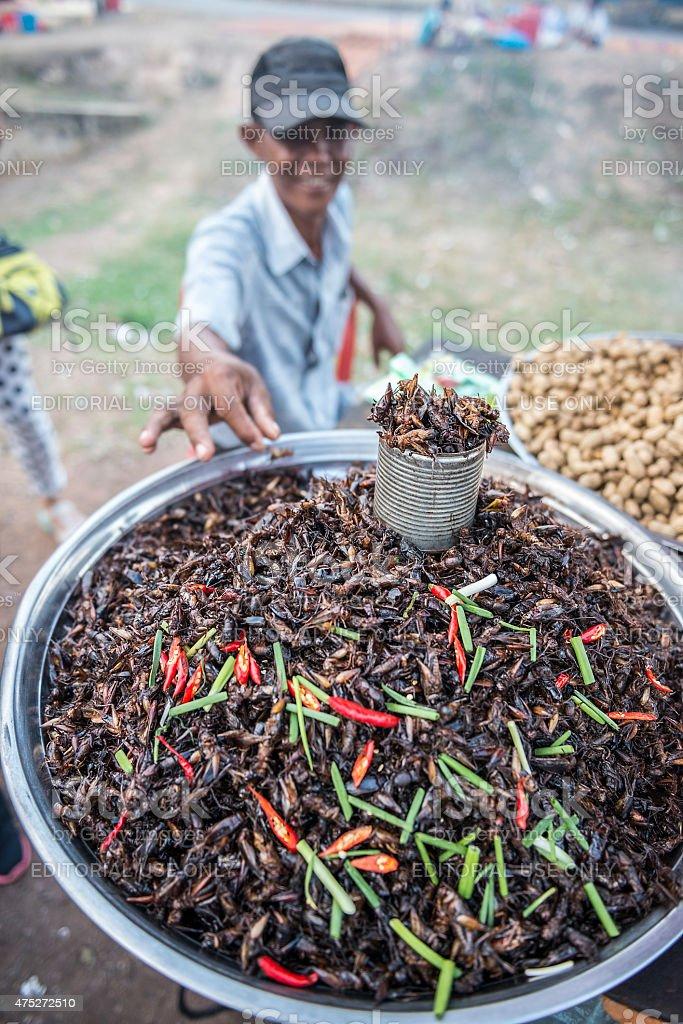 Cambodian Street Food stock photo