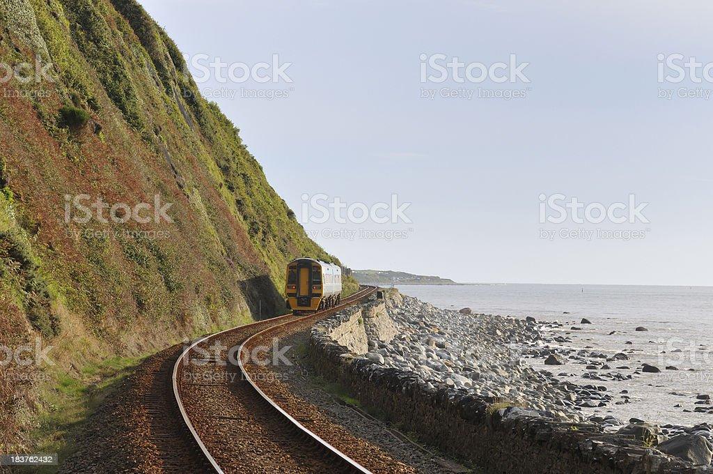 Cambrian Railway stock photo