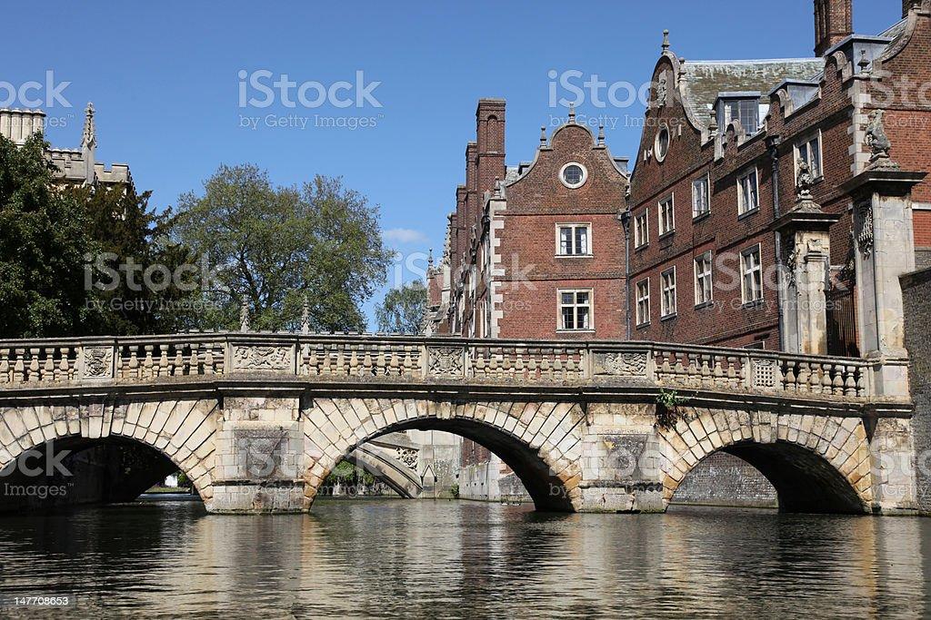 Cambridge - England royalty-free stock photo