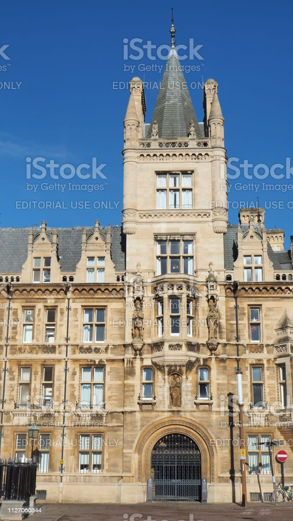 Cambridge England The Gonville And Caius College Stock Photo - Download  Image Now