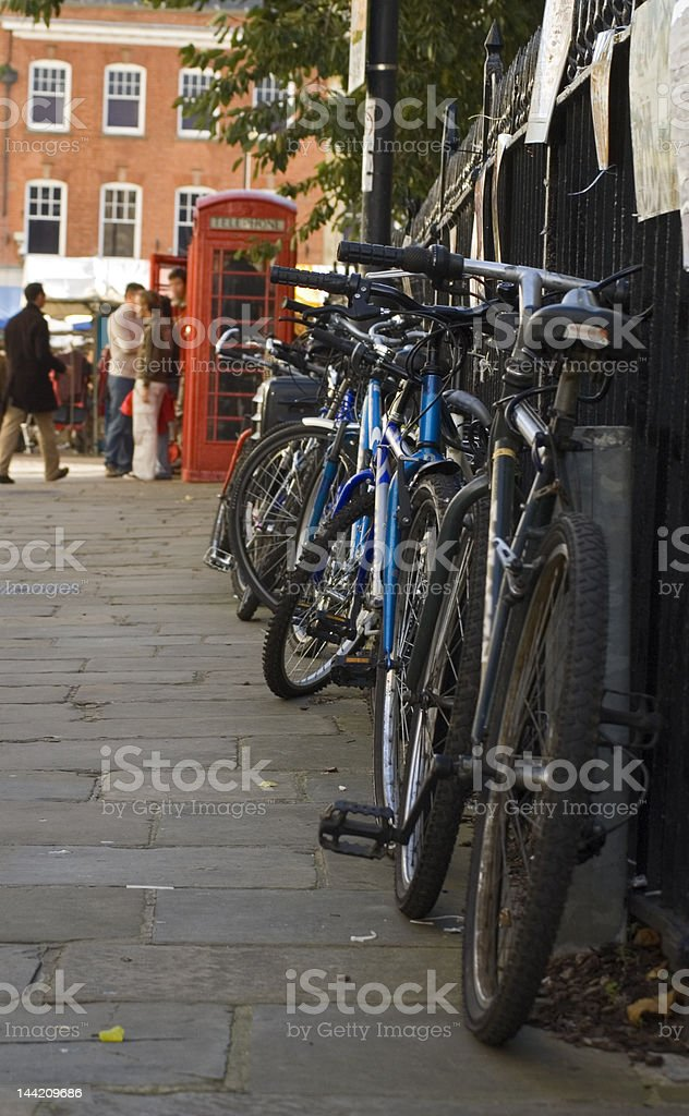 Cambridge Market Place royalty-free stock photo