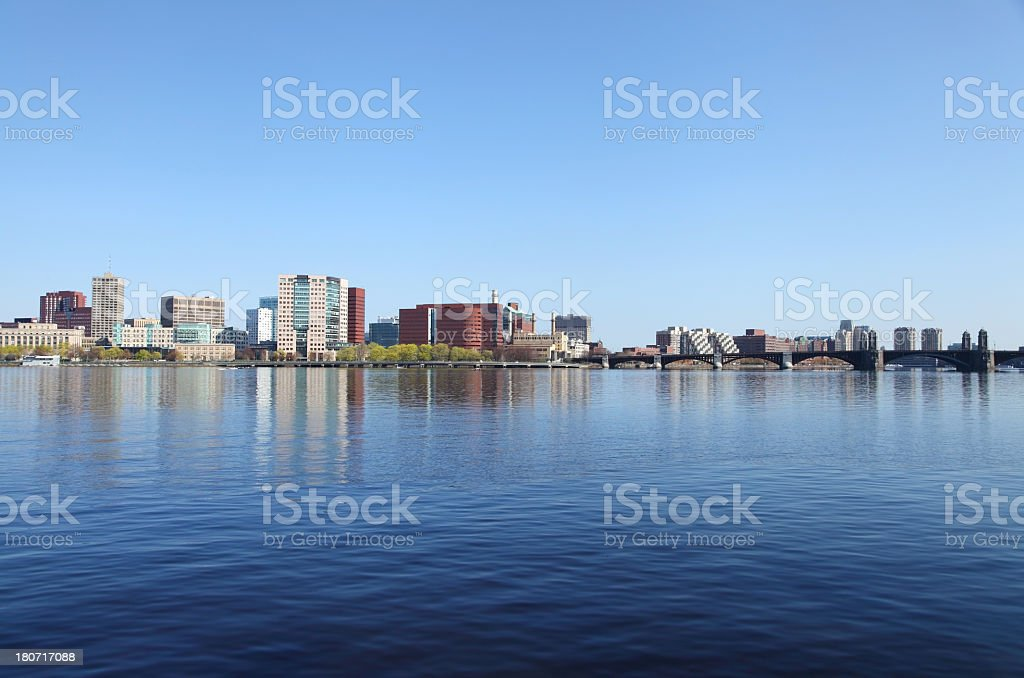 Cambridge, Massachusetts royalty-free stock photo