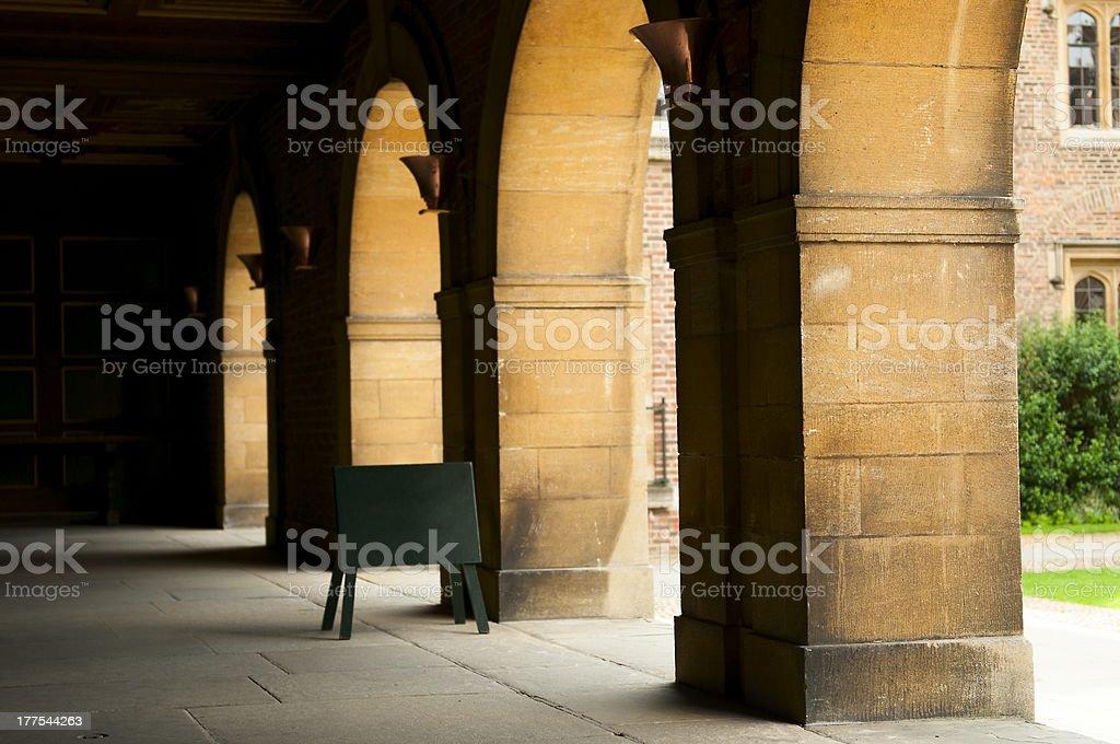 Cambridge royalty-free stock photo
