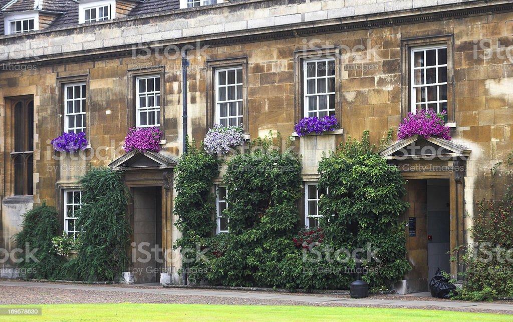Cambridge University Lizenzfreies stock-foto