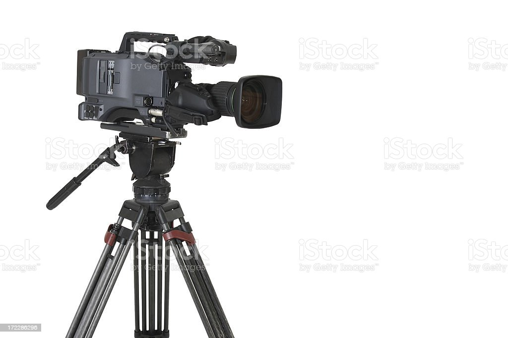 P2 Camcorder hpx 500 royalty-free stock photo