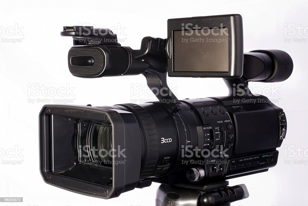 camcorder royalty-free stock photo