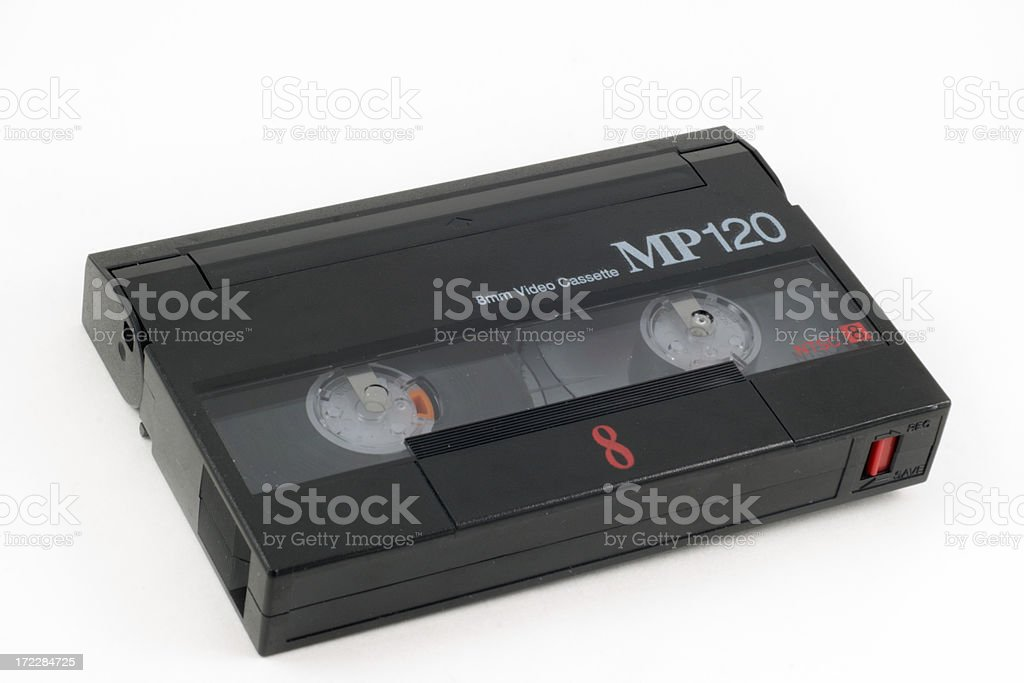 camcorder tape royalty-free stock photo