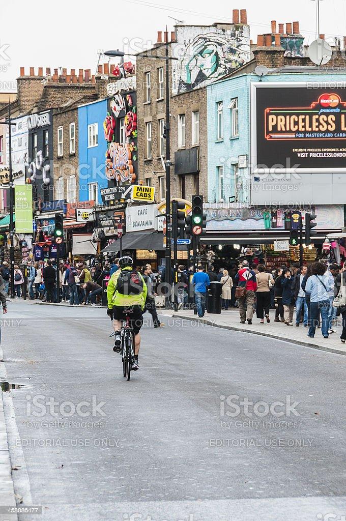 Camden by bike stock photo
