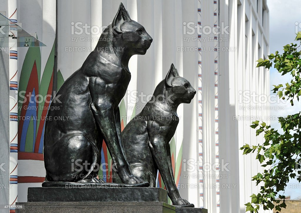 Camden Deco Cats stock photo