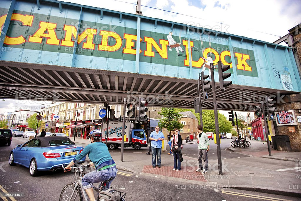 Camden Lock, London, UK royalty-free stock photo