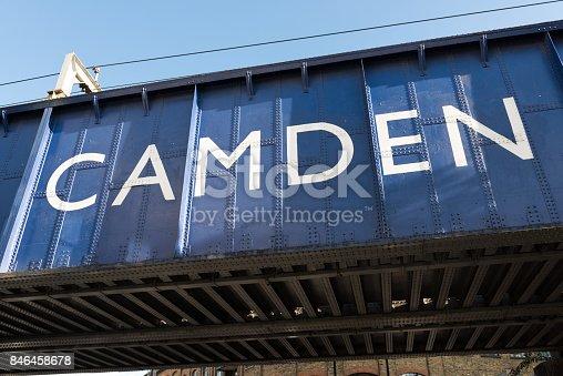 Camden Bridge on Camden High Street.