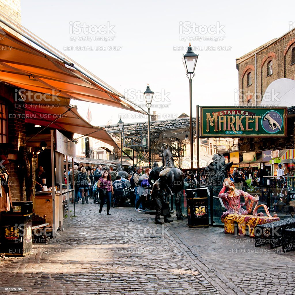 Camden Stables Market - London stock photo