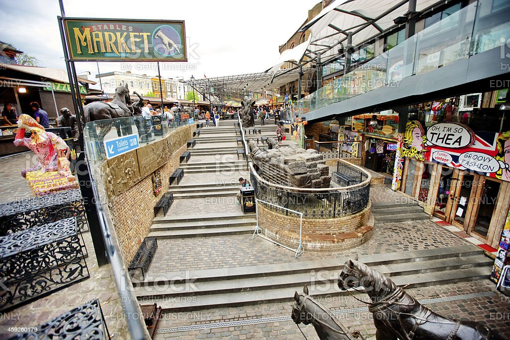 Camden Stables Market, London stock photo