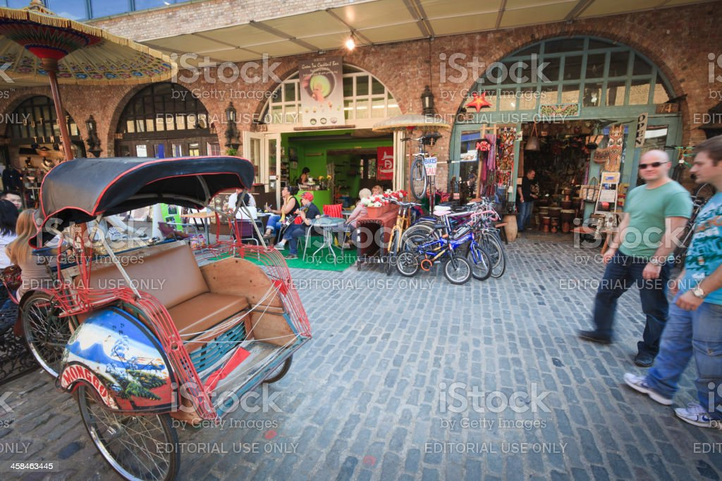 Camden Stables Market royalty-free stock photo