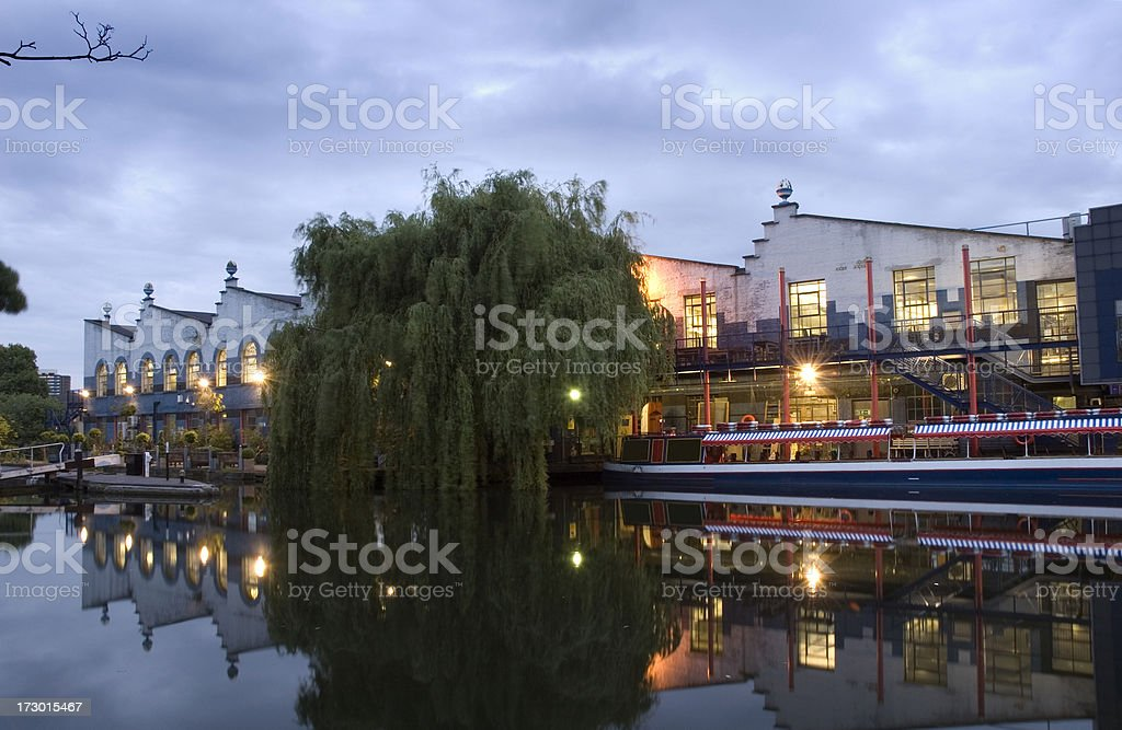 Camden Town. London royalty-free stock photo