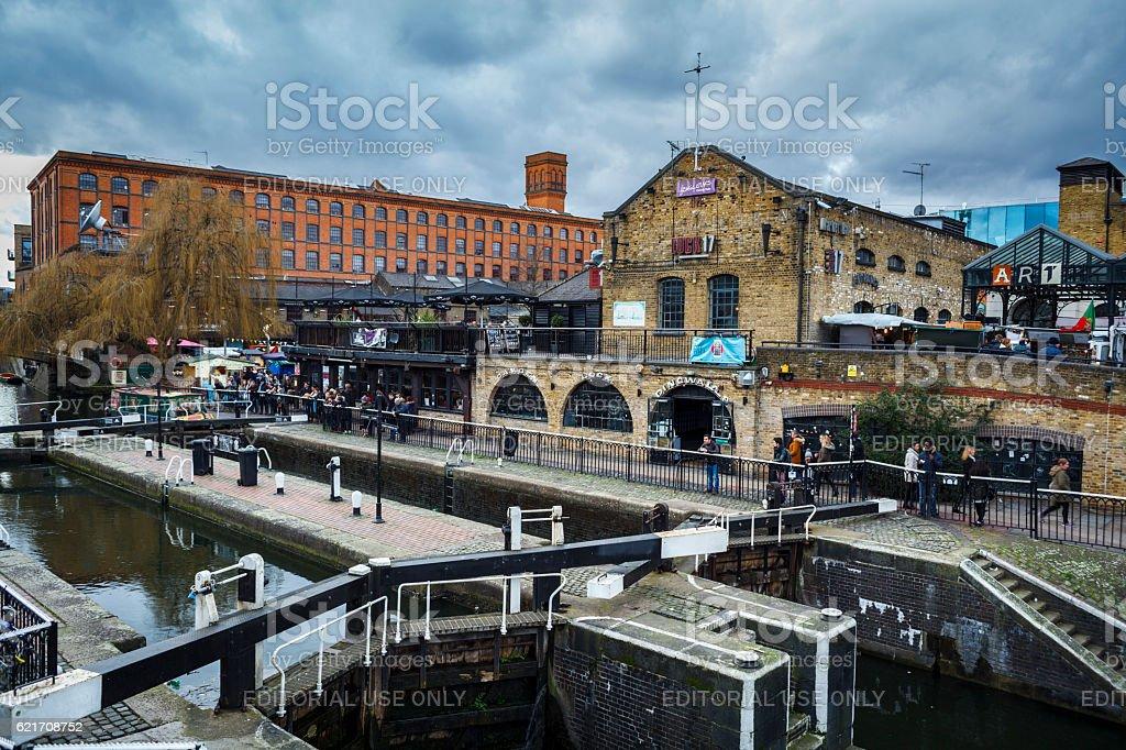 Camden Town Market stock photo