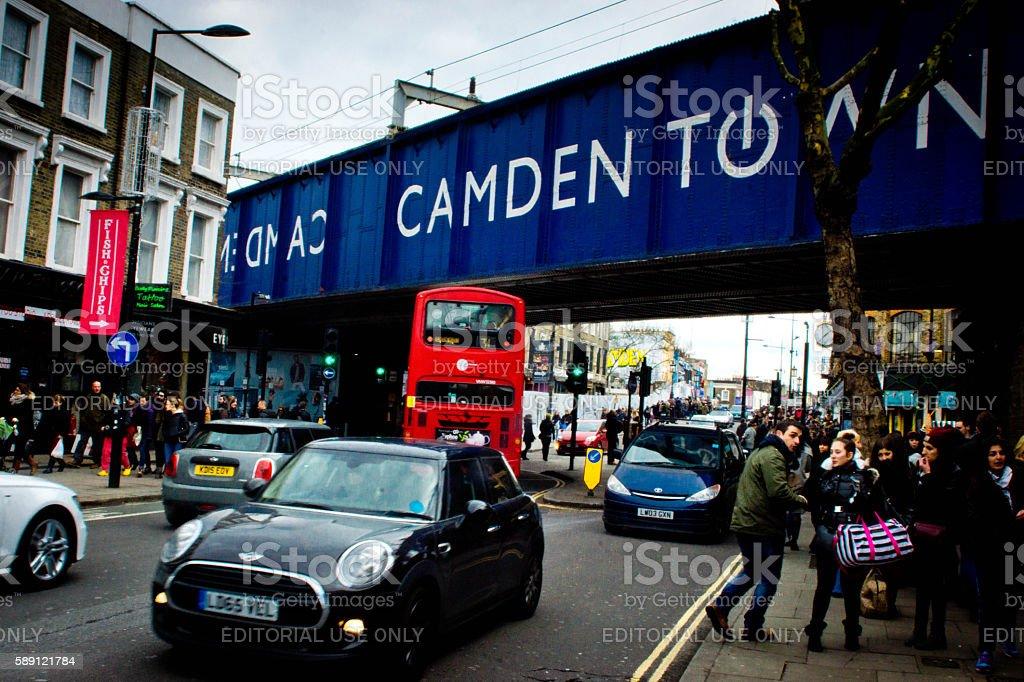 Camden Town Sign stock photo