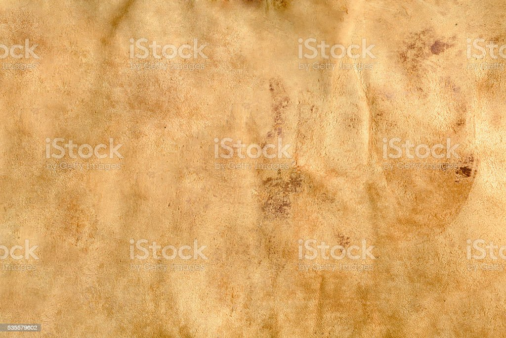 Camel colored leather texture stock photo