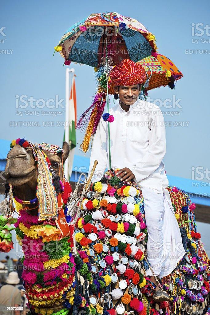 Camel Fair in India royalty-free stock photo