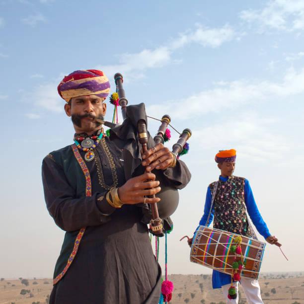 Camel Festival in Bikaner, Rajasthan, India stock photo