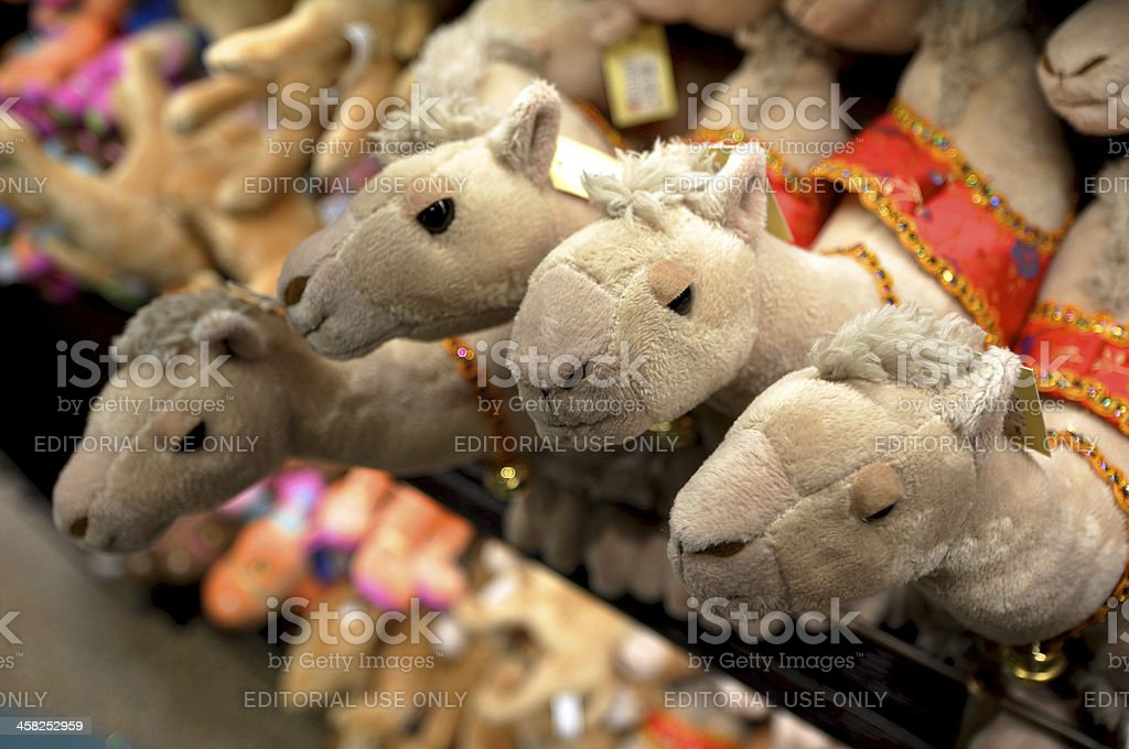 camel souvenir royalty-free stock photo