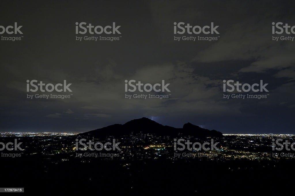 Camelback Mountain, Phoenix, Arizona royalty-free stock photo