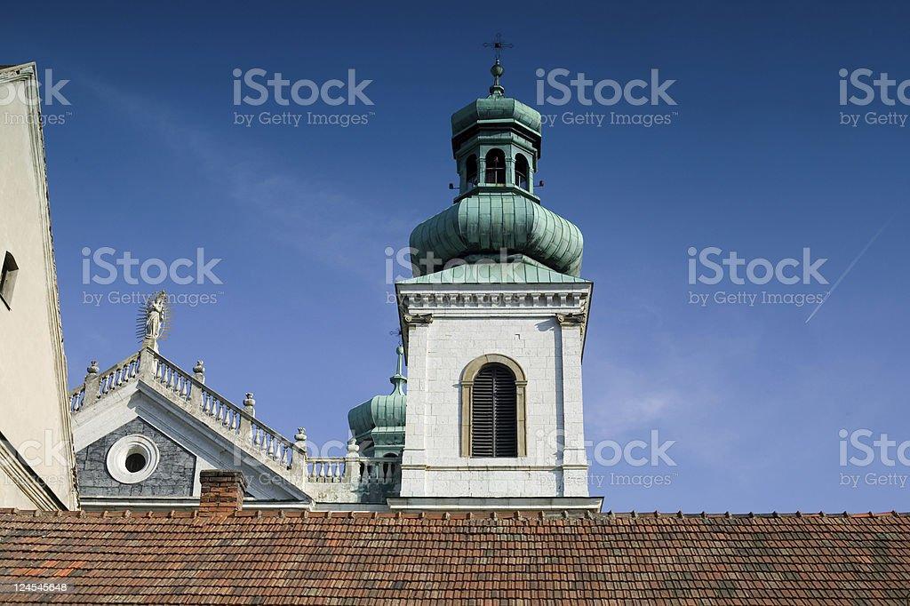 Camelodolite monastery in Krakow stock photo