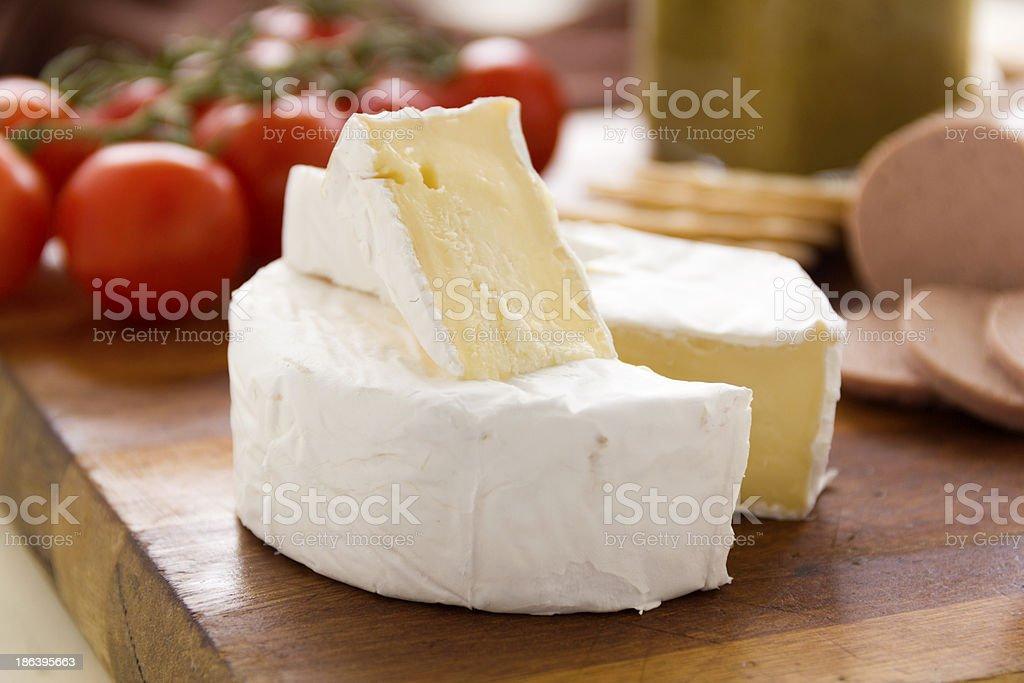 Camembert Cheese royalty-free stock photo