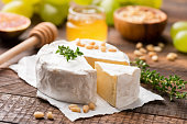 istock Camembert or Brie cheese 1042321202