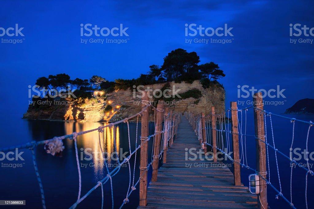 Cameo islet royalty-free stock photo
