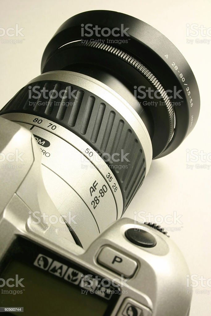 Camer - SLR - Close Up royalty-free stock photo