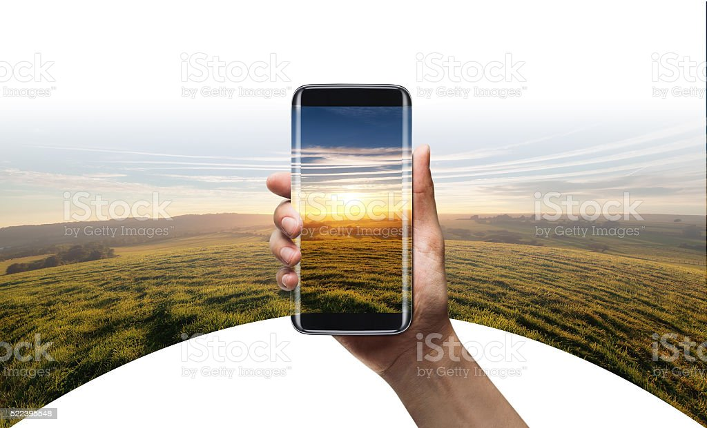 camera 360 view - Smart phone stock photo