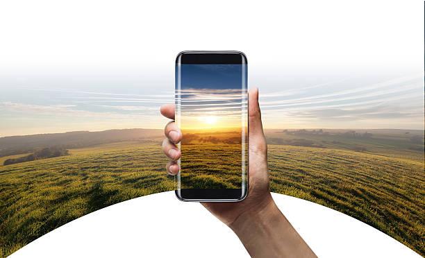 camera 360 view - Smart phone bildbanksfoto