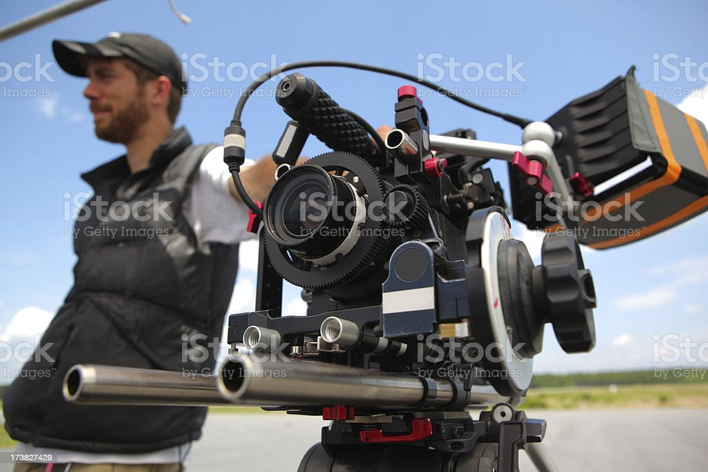 HD Camera and DP stock photo
