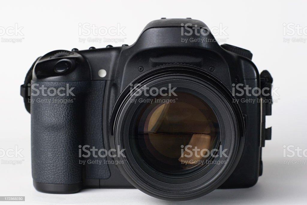 Camera and Lens royalty-free stock photo