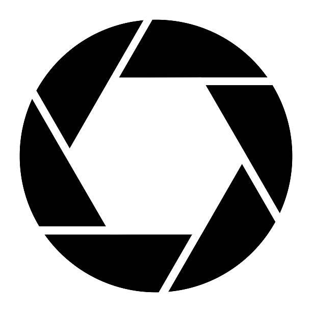 Camera Aperture Photography Symbol stock photo