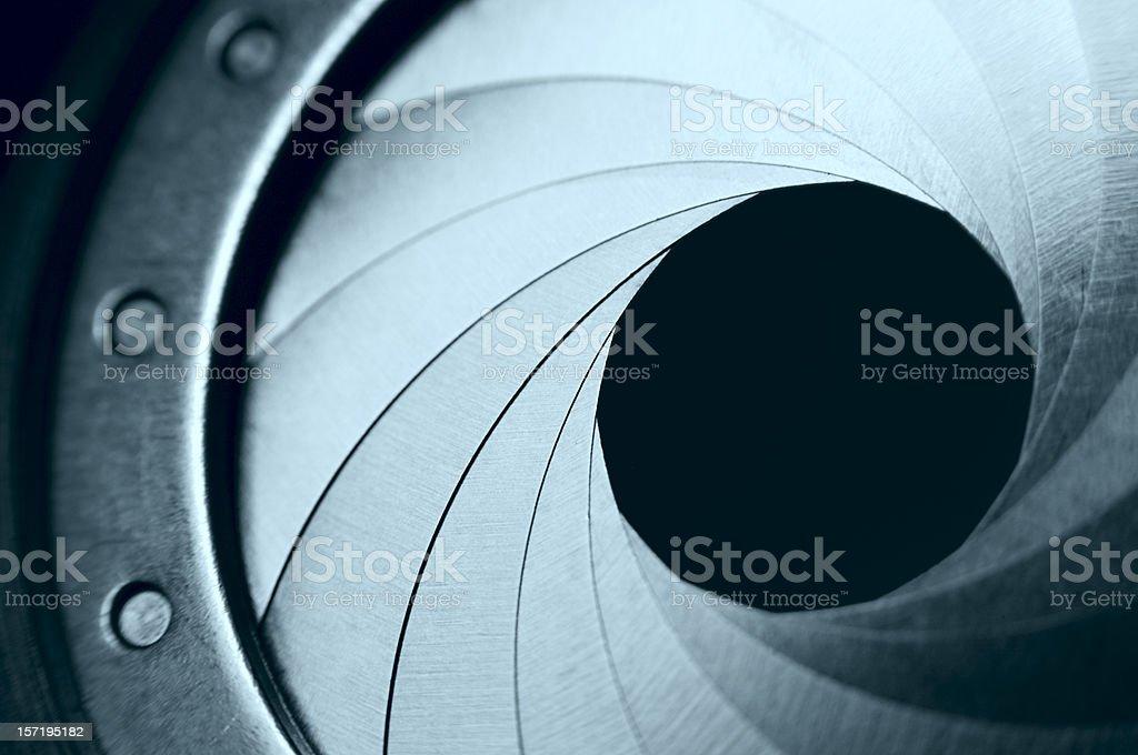 Camera Aperture stock photo