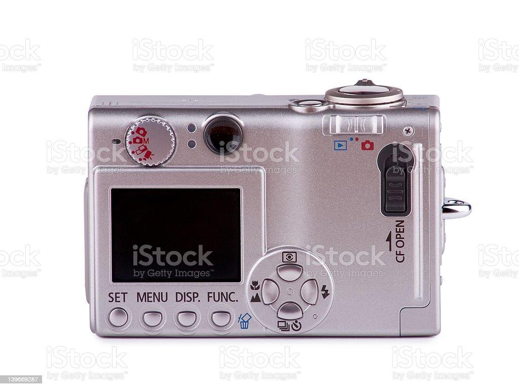 Camera Back royalty-free stock photo