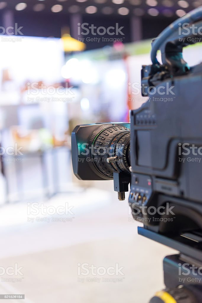 Kamera rundfunk Fernseher Arbeiten im studio – Foto
