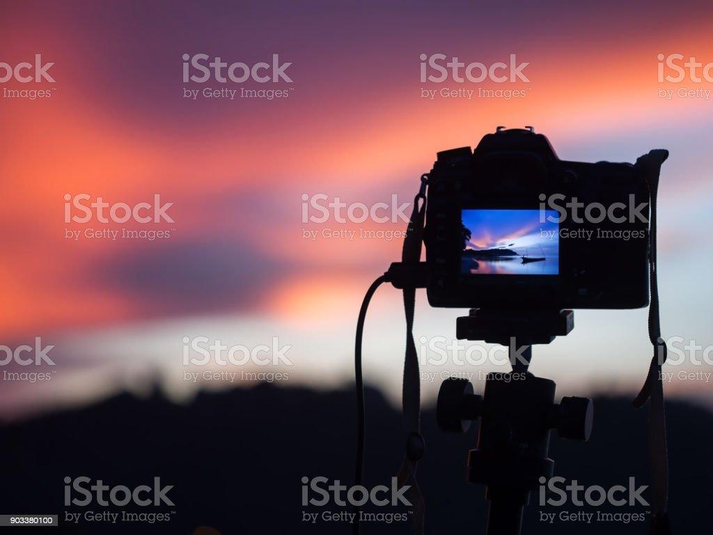 Hintergrund unscharf kamera